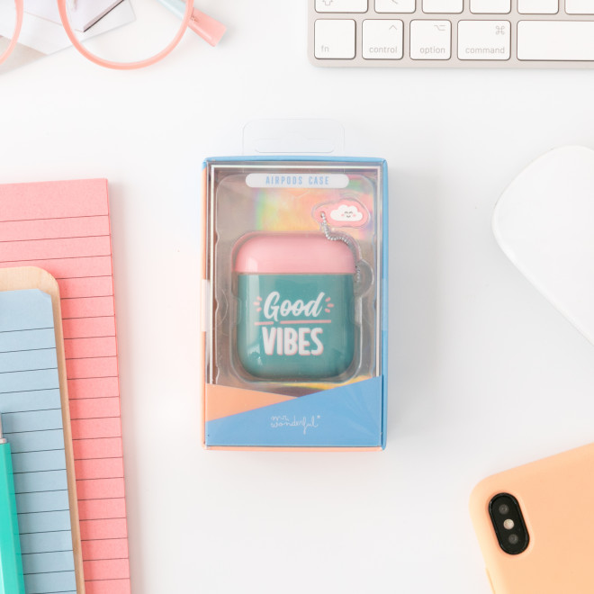 Slim AirPods box - Good vibes