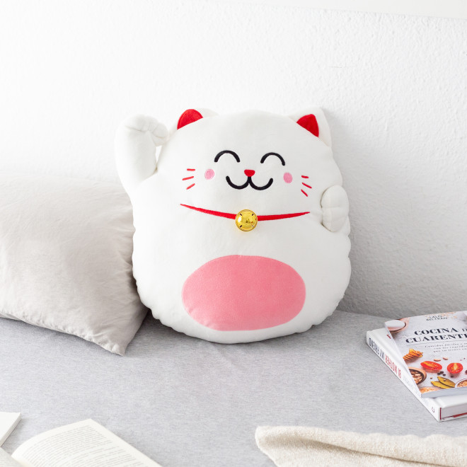 Cushion Lucky cat Maneki Neko