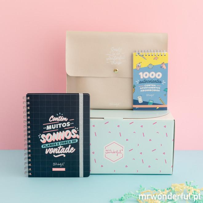 Kit de organização - Vamos a isso!