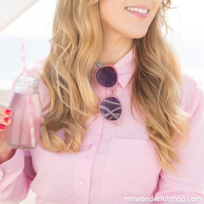 Óculos de sol - Pink attitude