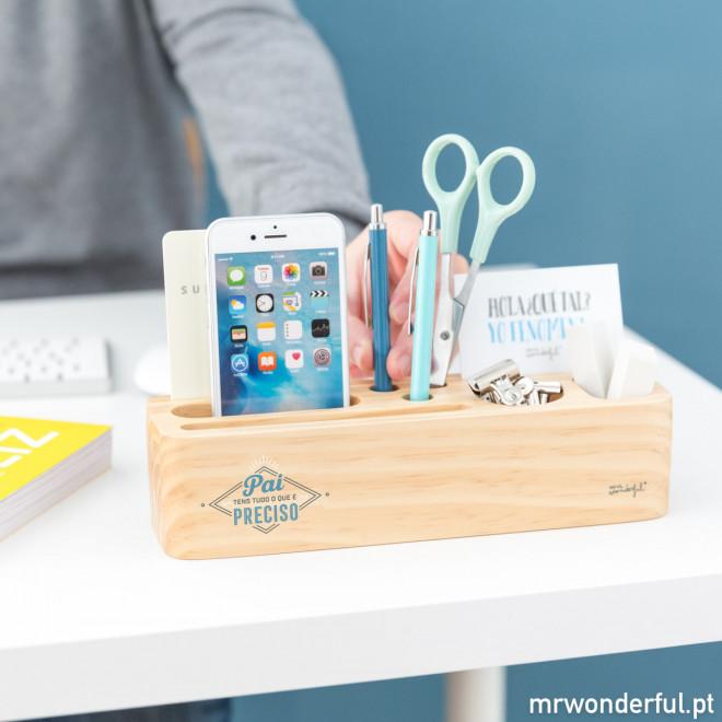 Organizador de escritório - Pai, tens tudo o que é preciso (PT)