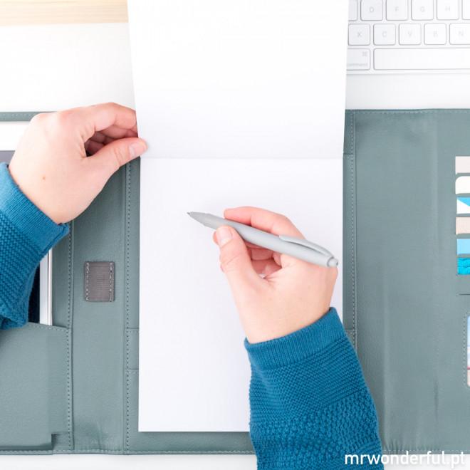 Porta-documentos - Grandes ideias, projetos e nota (PT)