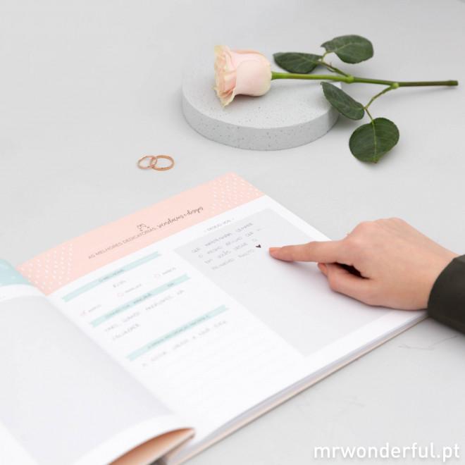 Livro de assinaturas de um casamento genial (PT)