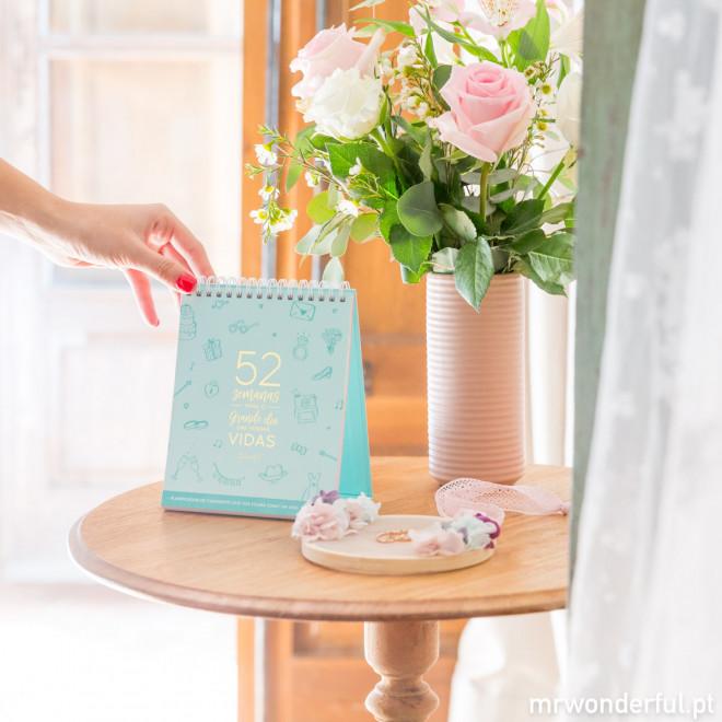 Calendário de casamento que vos irá como um anel o dedo (PT)