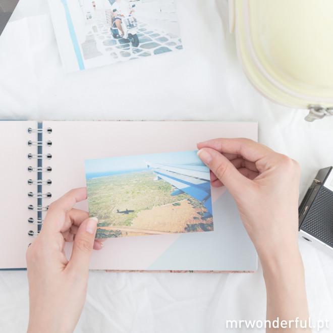 Álbum de fotos viajar