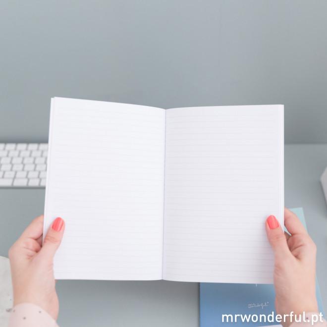 Conjunto de cadernos cheios de inspiração (PT)
