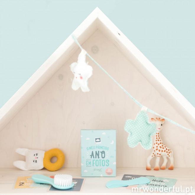 Cartões para bebés - O meu primeiro ano em fotos (PT)