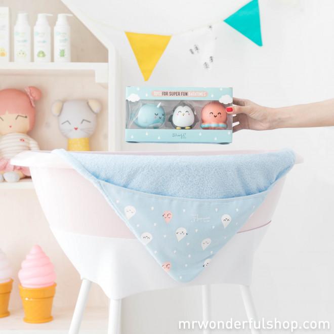 Brinquedos para o banho