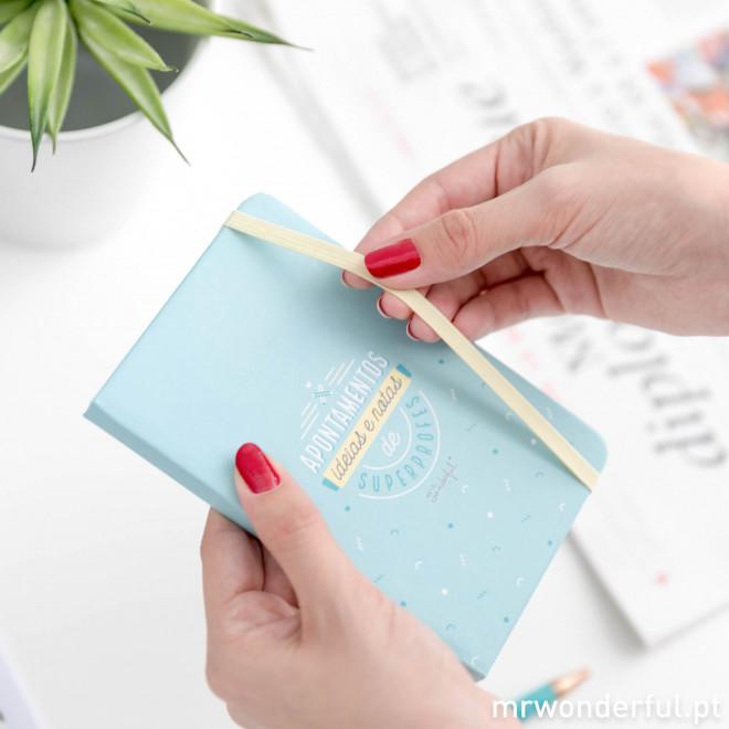 Pack caderno mais caneta para professores