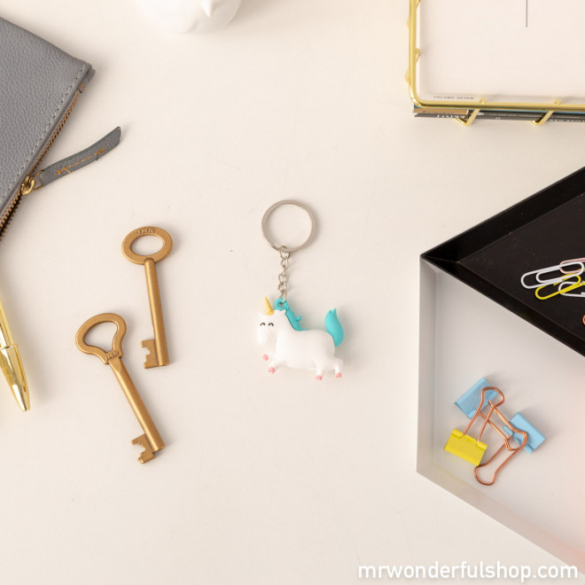 Unicorn key ring - You do magic