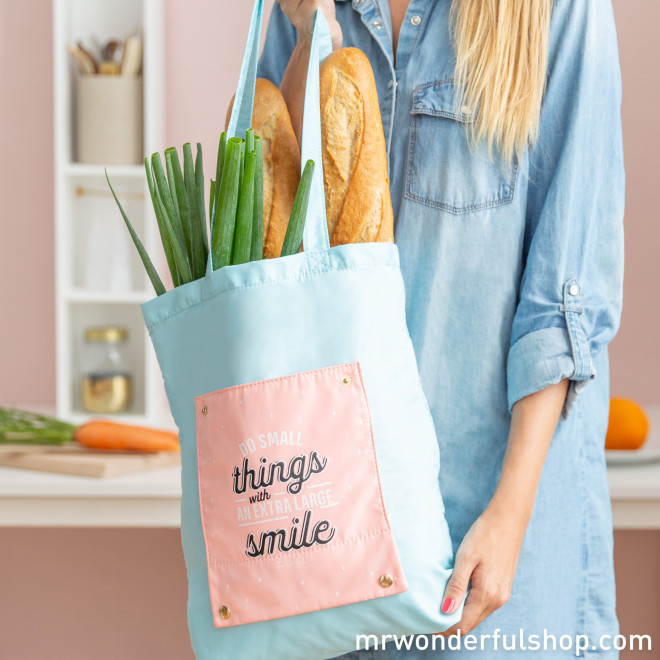 Foldable tote bag - Do small things