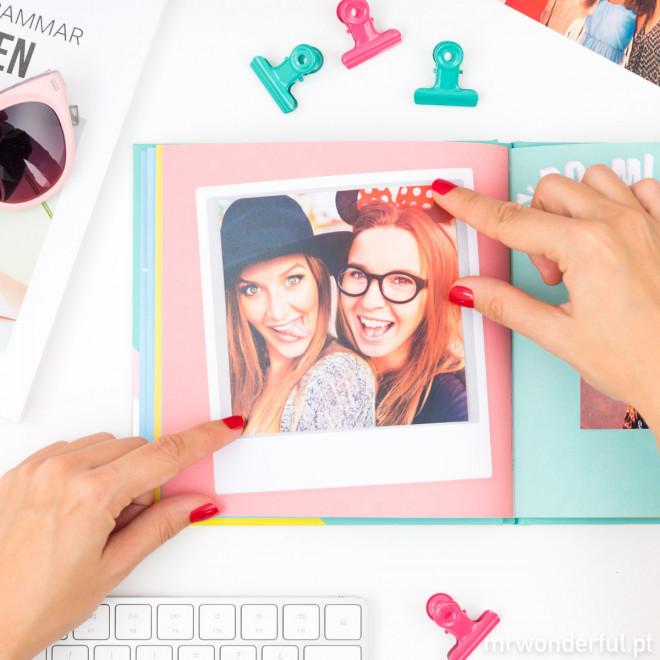 Álbum de fotos para selfies - Se tu dizes selfie, abandono tudo
