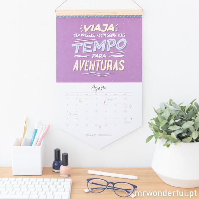Calendário de parede - Este é o teu momento e 2019 é o teu ano (PT)