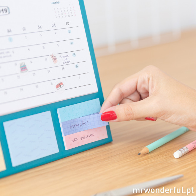 Calendário de mesa - 2019