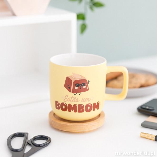 Caneca - Estás um bombom (PT)