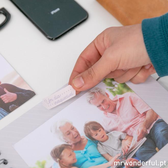 Álbum de fotos - Só os melhores avós têm netos fantásticos