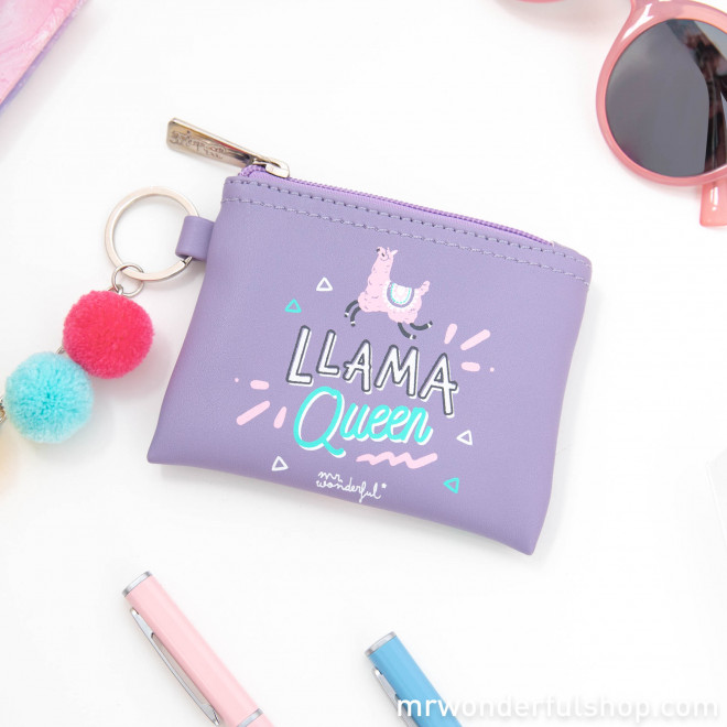 Monedero porta llaves Llama Collection - Llama Queen