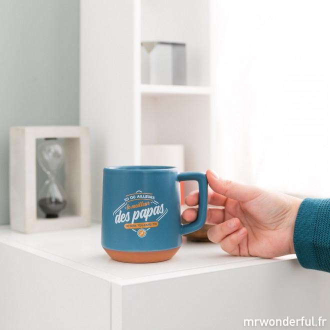 Mug - Ici ou ailleurs, le meilleur des papas, ce sera toujours toi
