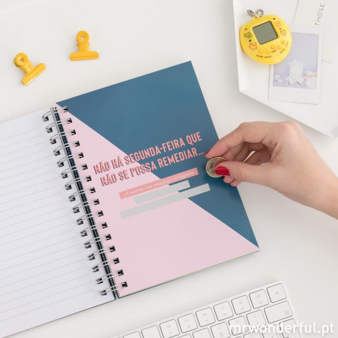 Caderno com frases motivadoras - The Powerful Collection