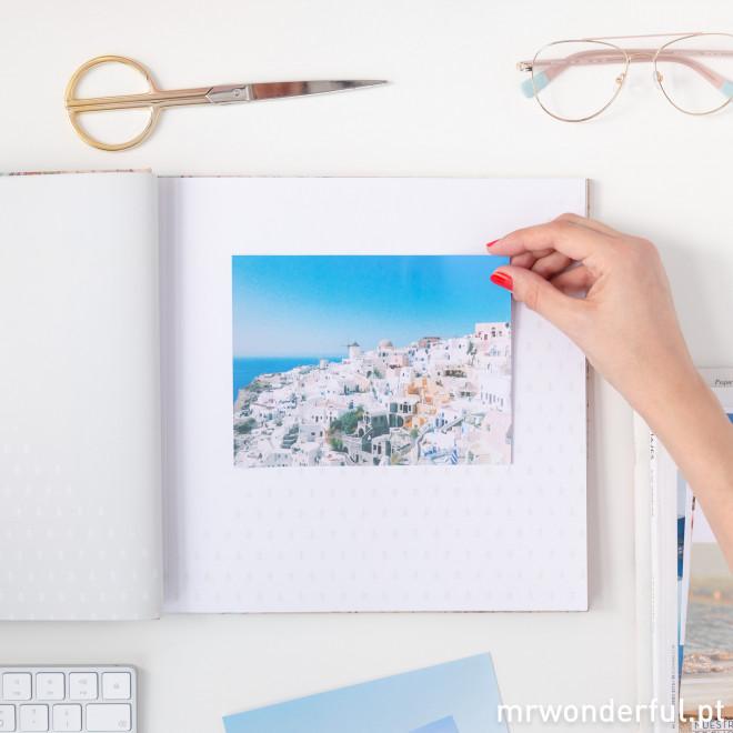 Álbum de fotos - Aqui guardo viagens inesquecíveis