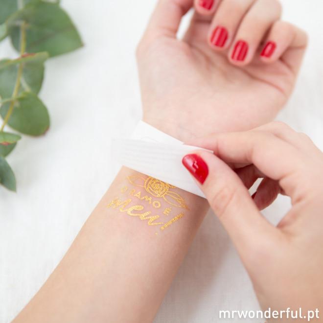 Tatuagens temporárias para casamentos inesquecíveis