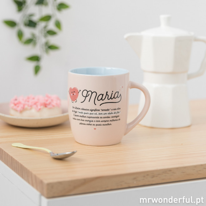 Caneca Maria - Wonderful names