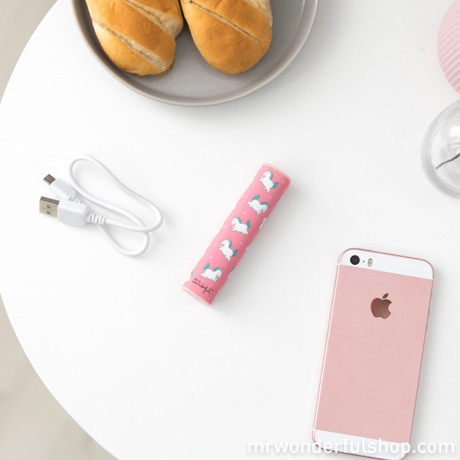 Power bank - Mini unicornios