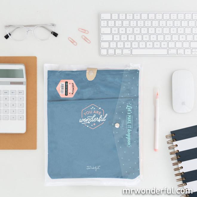 Set de dois porta-agendas - You are wonderful