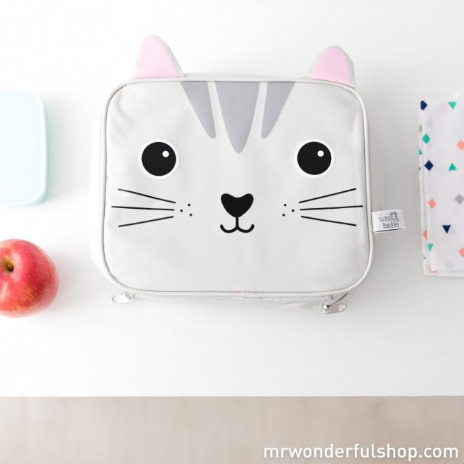 Saco térmico de gato Kawaii