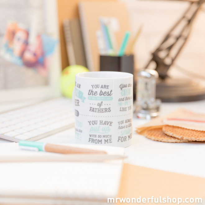 """Caneca """"You are an amazing father"""" (ENG)"""