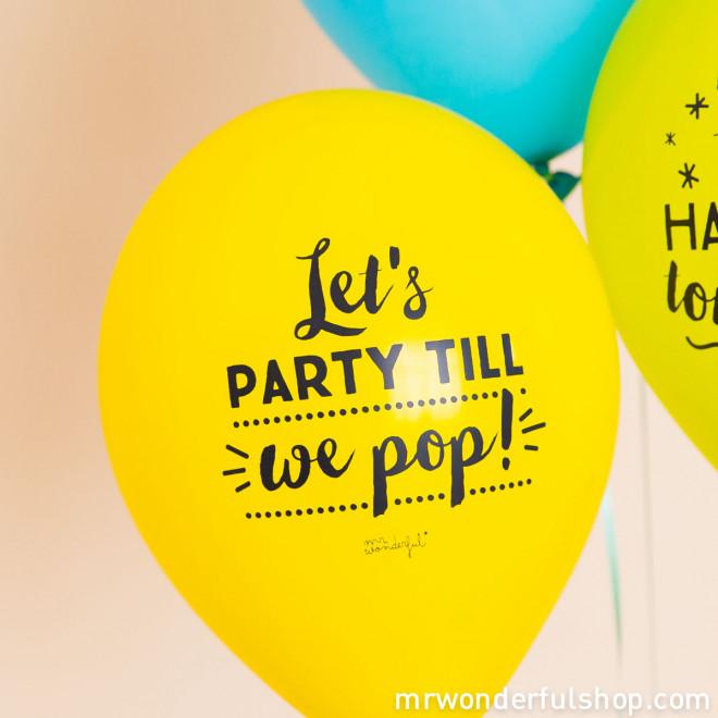 Balões para despedidas de solteira inesquecíveis (ENG)