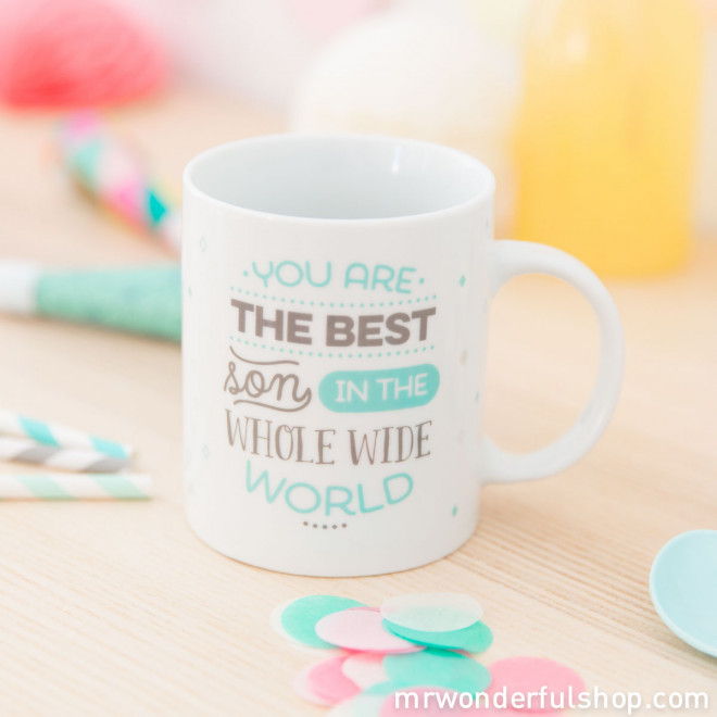 Caneca - You are the best son in the whole wide world (ENG)