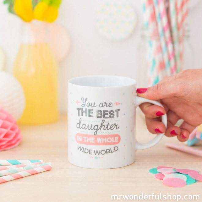 Caneca - You are the best daughter in the whole wide world (ENG)