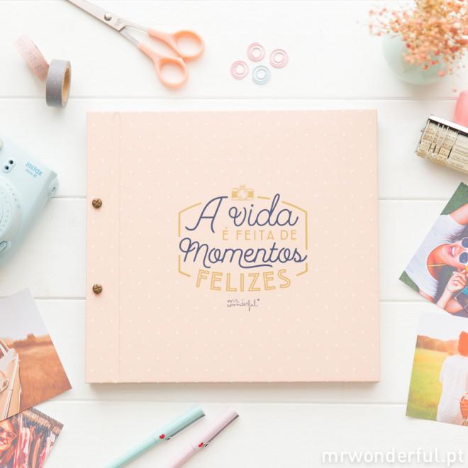 álbum A Vida é Feita De Momentos Felizes Pt Mr Wonderful