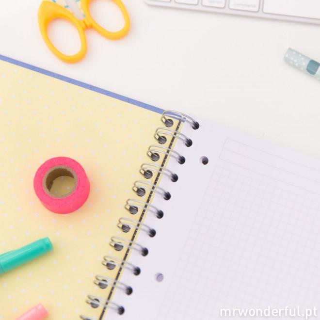 Caderno grande - Faz com que aconteçam coisas fantásticas (PT)