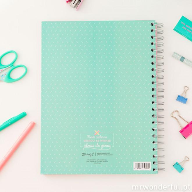 Caderno grande - Momentos que vão fazer deste ano uma grande aventura (PT)