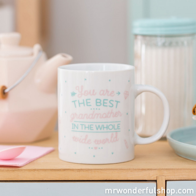 Caneca - You are the best grandmother in the whole wide world (ENG)