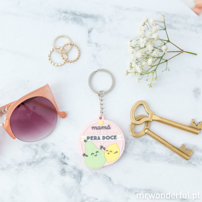Porta-chaves - Mamã, tu és pera doce (PT)