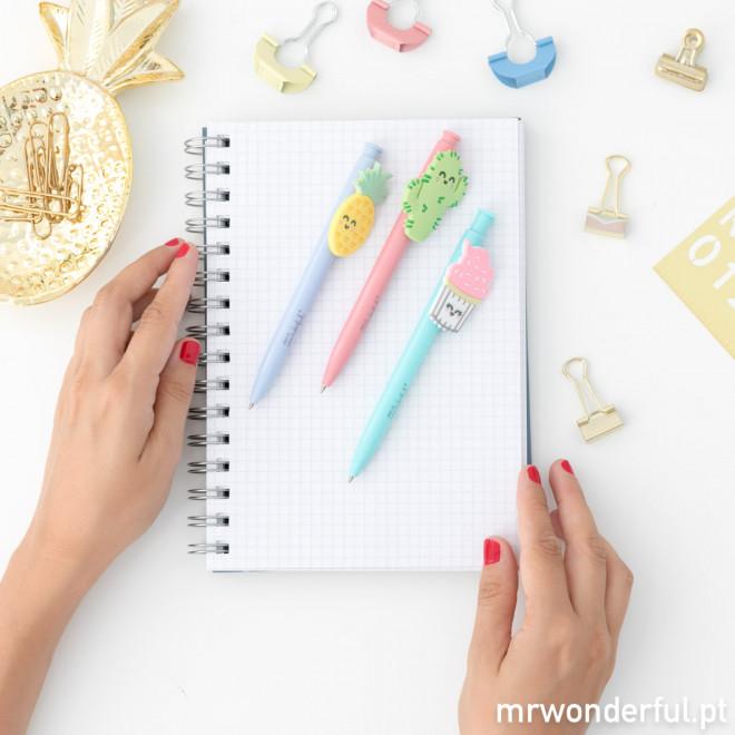 Pack de canetas superamorosas (PT)