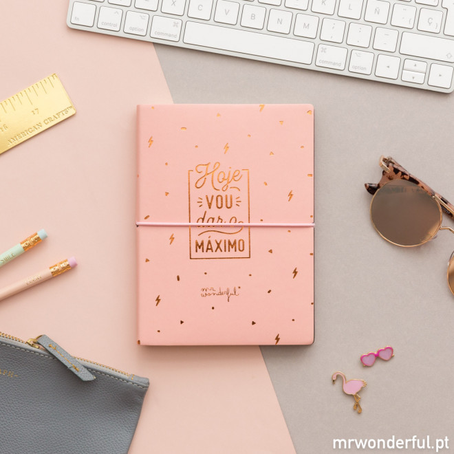 Caderno Mr.Wonderful