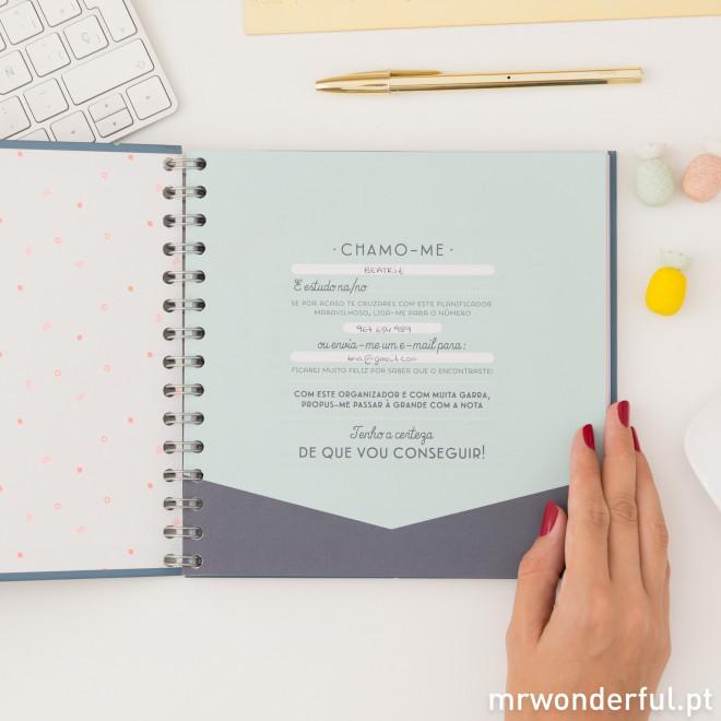 Organizador de estudo para que não te passe nada ao lado (PT)