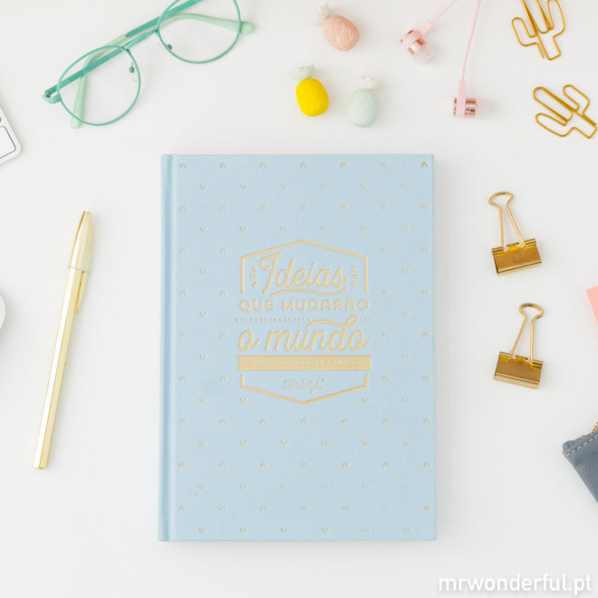 Caderno Mr.Wonderful