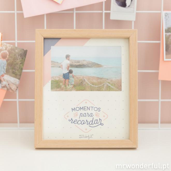 Moldura de fotos – Momentos para recordar