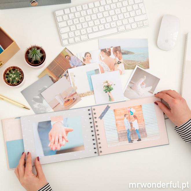 Álbum de fotografias - Recordações que são só nossas (PT)