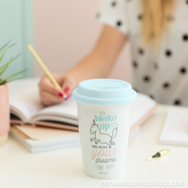 Taza de viaje Mr. Wonderful