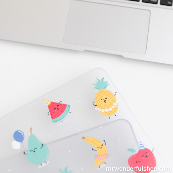 "Capa para MacBook Air 2 13"" - Frutas"