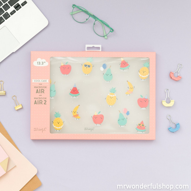 "Capa para MacBook Air 2 13.3"" - Frutas"
