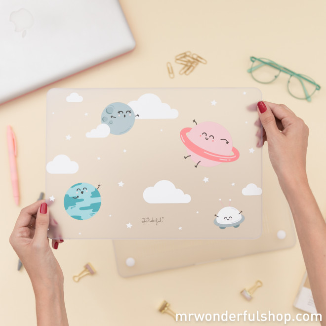 "Capa para MacBook Pro Retina de 13"" - Planetas"