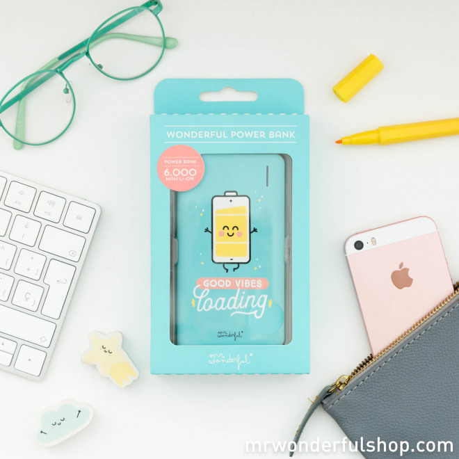 Power bank - Good wibes loading (ENG)