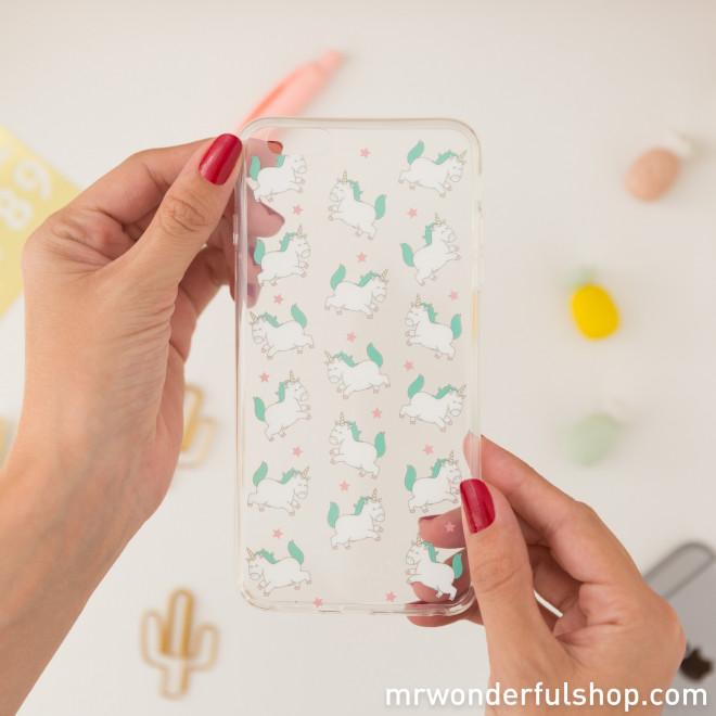 Capa para iPhone 6 Plus - Unicórnios